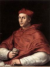 Portrait of Cardinal Bibbiena 1516 By Raphael