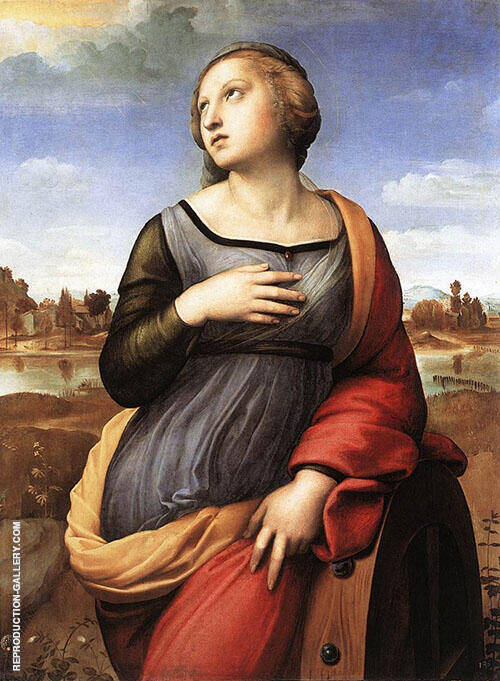 Saint Catherine of Alexandria 1507 By Raphael