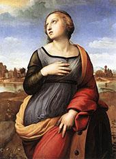 Saint Catherine of Alexandria 1507 By Raphael