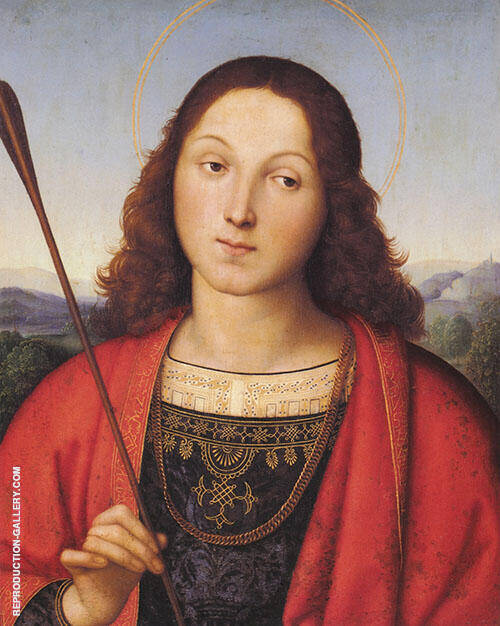 St Sebastian 1501 Painting By Raphael - Reproduction Gallery