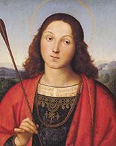 St Sebastian 1501 By Raphael