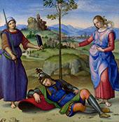 Sueno del Caballero By Raphael