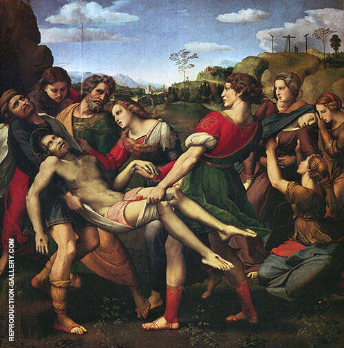 The Deposition 1507 By Raphael