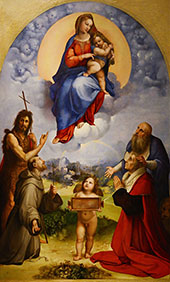 The Madonna of Foligno 1511 By Raphael