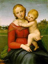 The Small Cowper Madonna 1505 By Raphael