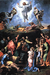 The Transfiguration 1516 By Raphael