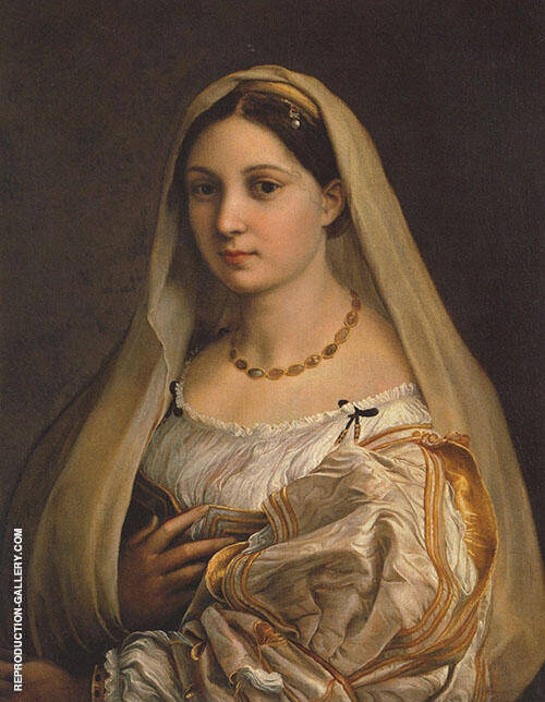 Woman with a Veil 1515 (La Donna Velata) By Raphael