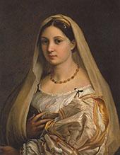 Woman with a Veil 1515 (La Donna Velata) By Raphael