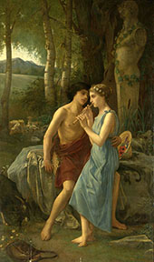 Daphnis and Chloe 1870 By Pierre Auguste COT