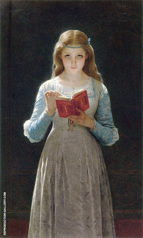 Ophelia Pause for Thought 1870 By Pierre Auguste COT