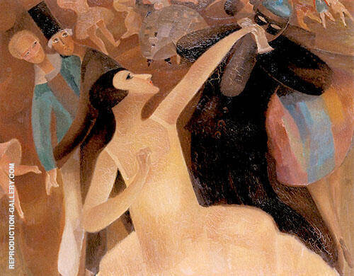 A Festive Evening 1927 By Alice Bailly
