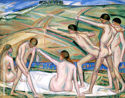 Archers 1911 By Alice Bailly