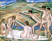 Archers 1911 By Alice Bailly