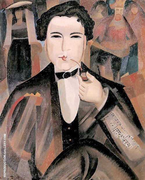 Arthur Honegger with King David 1921 By Alice Bailly