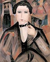 Arthur Honegger with King David 1921 By Alice Bailly