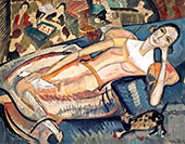 At Leisure 1922 By Alice Bailly