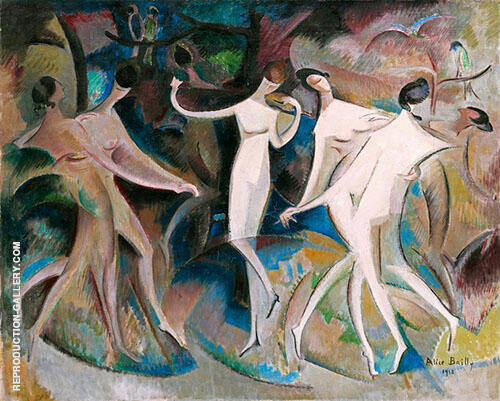 Beauties Fancy 1918 By Alice Bailly