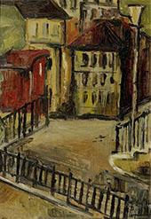 Blick Auf Einen Hinterhof By Alice Bailly