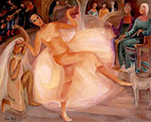 Dancer at The Palais 1928 By Alice Bailly