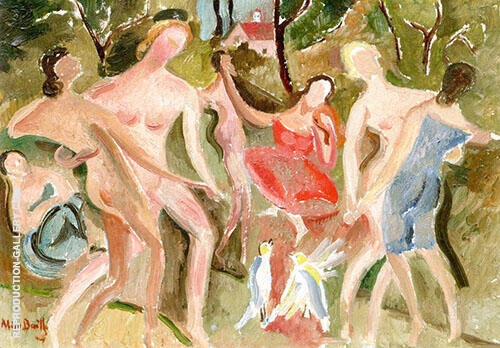 Dancers c1918 By Alice Bailly