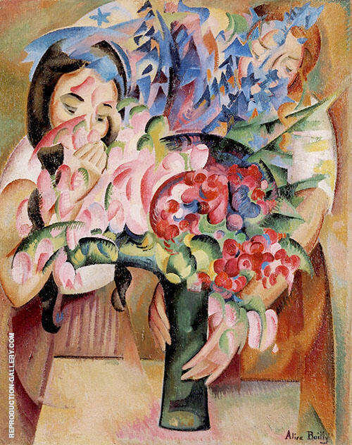 Flowers and Figures By Alice Bailly