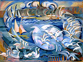 Geneva Harbor By Alice Bailly