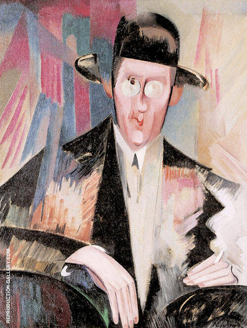Henry Spiess 1918 By Alice Bailly