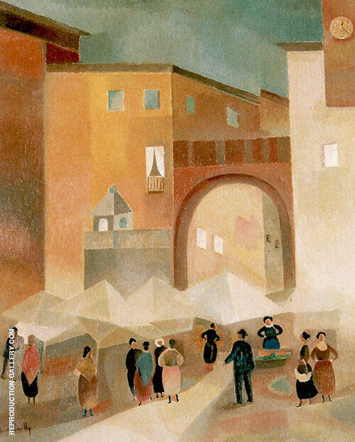 Italian Lanscape 1926 By Alice Bailly