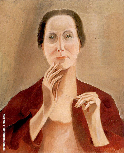 My Portrait 1929 By Alice Bailly