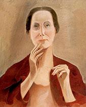 My Portrait 1929 By Alice Bailly