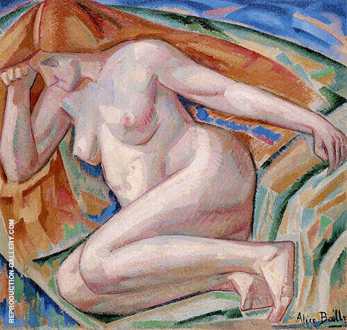 Nude with Red Hair 1912 By Alice Bailly