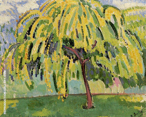 Pear Tree 1909 By Alice Bailly