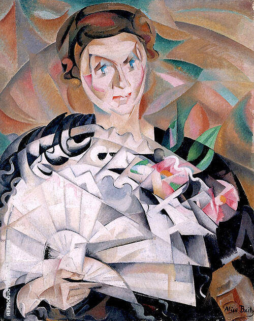 Playing with a Fan 1913 By Alice Bailly