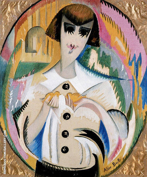 Raymonde Naville 1916 By Alice Bailly