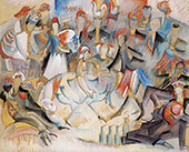 Roulotte Joyeuse 1916 By Alice Bailly