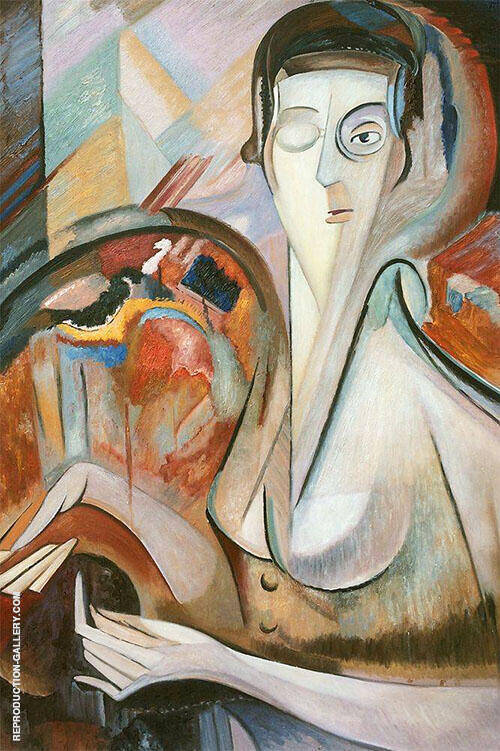 Self Portrait By Alice Bailly