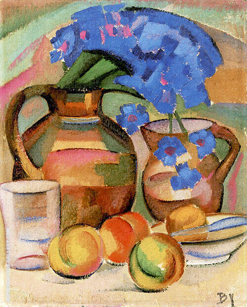 Still Life 1912 By Alice Bailly