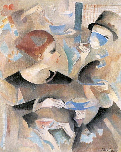 Tea Time 1920 By Alice Bailly