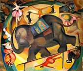 The Elephant 1922 By Alice Bailly