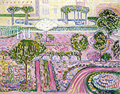 The Pink Garden 1907 By Alice Bailly