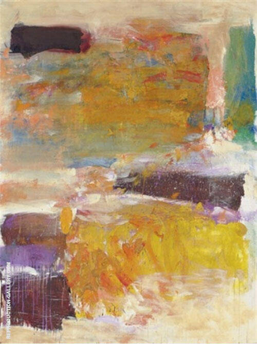 Field for Two 1973 By Joan Mitchell