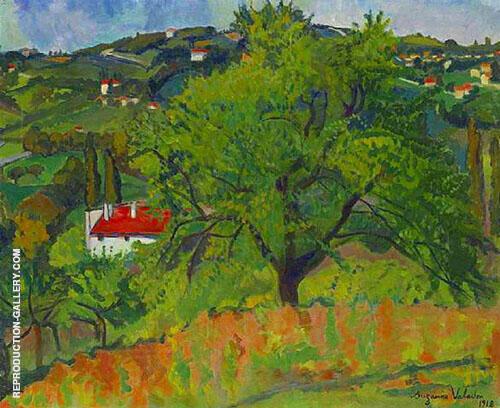 Farm Montcorin 1918 By Suzanne Valadon