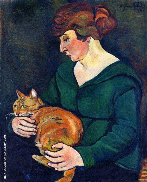 Louison and Raminou 1920 By Suzanne Valadon