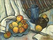 Pommes Pichet Et Theiere 1919 By Suzanne Valadon