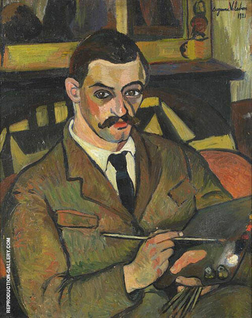 Portrait of Her Son Maurice Utrillo By Suzanne Valadon