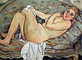 Reclining Nude 1928 By Suzanne Valadon