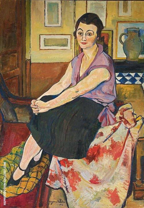 Ritratto di Maria Lani By Suzanne Valadon