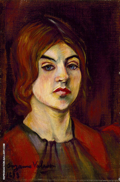 Self Portrait 1898 By Suzanne Valadon