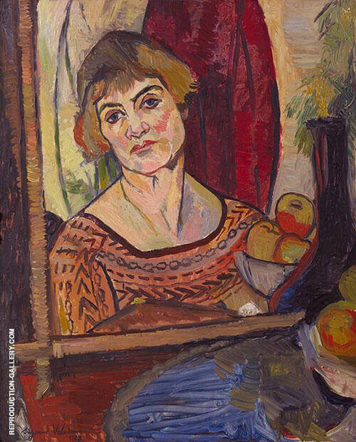 Self Portrait 1927 By Suzanne Valadon