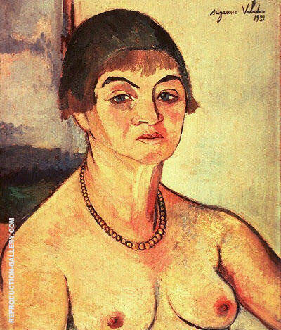 Self Portrait 1938 By Suzanne Valadon